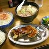 味の天龍 - 料理写真:本日のモツラーメン定食 ¥800