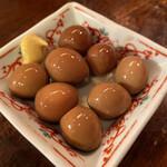 串焼き処ディズ - ★味付けうずら卵★(350)