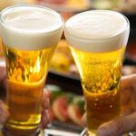 DINING BAR WOODBELL - 生ビールは「プレミアムモルツ」 飲み放題ドリンクも妥協しません!