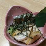 tempurakaisenjizakeiyasaka - 長芋わさび醤油漬け