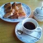 Erupisu - クロックムッシュとコーヒー
