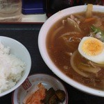 中華&洋食 コタン - 肉らあめん&半ライス
