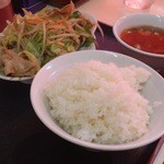 中華&洋食 コタン - 肉野菜炒め定食