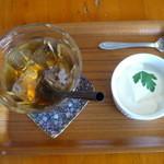 郡山 トンチキてい - アイスウーロン茶&デザート