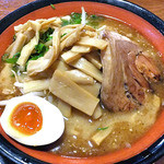 麺屋 一本気 - みそらー麺・めんま(2012年5月)