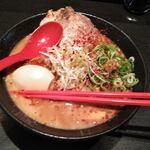 ラーメン こんじき - 赤濃縮白湯ラーメン 850円