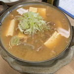 三四郎 - 煮込み豆腐