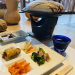 130811499 - 前菜から大和野菜のオンパレード!素材のお味を活かしたお料理が並びます(о´∀`о)