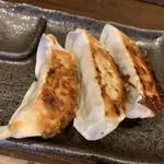 ラーメンラボ。ヒカリノサキ - セットの餃子