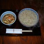 鯨荘 塩町館 - 料理写真:玉子汁釜揚げうどん