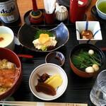 日本橋 伊勢定 - 鰻丼セット