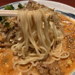 陽華楼 - 麺は中麺で、コシのあるクミクミ食感!
