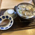 川市 - 料理写真:はまぐり鍋うどん