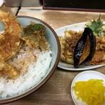 豊野丼 - 鰯天丼