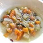 130823585 - お通しの野菜スープ