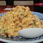 中華風家庭料理 ふーみん - 納豆炒飯