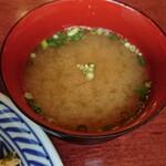 中華風家庭料理 ふーみん - 蟹味噌汁