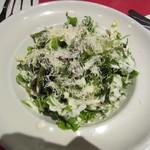 13083384 - グリーンサラダはチーズがてんこ盛り♪