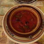 13083865 - バーミヤ お肉とオクラのトマト煮