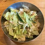 牛舎 - 牛舎サラダ