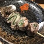 地鶏炭火焼 鶏樹 - えごま豚巻き