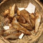 地鶏炭火焼 鶏樹 - 軟骨燻製唐揚げ