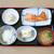 丸福食堂 - 料理写真:サケのかま焼定食 860円