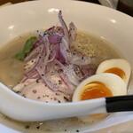 麺屋M - 真鯛そば 味玉トッピング