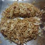 ふくい - 焼きそば(豚肉大盛¥1350)