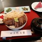 竹之里 - ステーキ丼