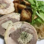 Bistro Du Coeur - 地鶏とフォアグラのガランティーヌセット