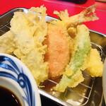 木村屋 - 料理写真:天ぷらサクサクです♪