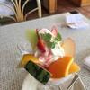 フルーツアイランド百果園 - 料理写真:フルーツパフェM バナナ抜き