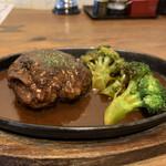 グリルキッチン チャンポン - 和牛すじ煮込みハンバーグ