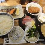新橋魚金 高田馬場店 - 幕の内定食