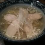 13086069 - 鶏肉そば600円