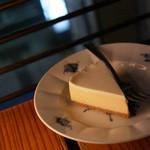 カフェ ド ギャルソン - チーズケーキ