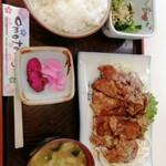 Heiwa - しょうが焼き定食 950円 人気NO.1と店内に書いてある