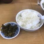 江ちゃんラーメン - 料理写真:ご飯小100円!