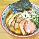 麺処 有彩 - 醤油+チャー