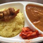 インド・ネパール料理 タァバン - チキンカレーのアップ