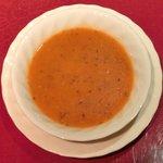 サライ - 【'12/05/17撮影】ケバブランチ 900円 のレンズ豆のスープ