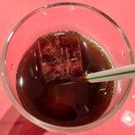 サライ - 【'12/05/17撮影】ケバブランチ 900円 のアイスコーヒー