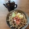 そば蔵 谷川 - 料理写真:おろしそば(720円)とそば湯