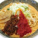 大志軒 - 季節限定「トマト麻辣油の冷やし担々麺」