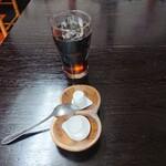 中華料理 梧桐 - 【2020.5.31(日)】お冷の代わりにアイスコーヒー