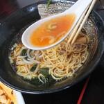 中華料理 梧桐 - 【2020.5.31(日)】醬油ラーメのスープ