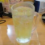 串天ぷら おでん 満ぞく屋 - チューハイライム