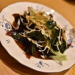 福龍菜館 - 晩酌コース3点セット(980円+税)の『ピータン』2020年5月