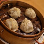福龍菜館 - 晩酌コース3点セット(980円+税)の『小籠包』2020年5月